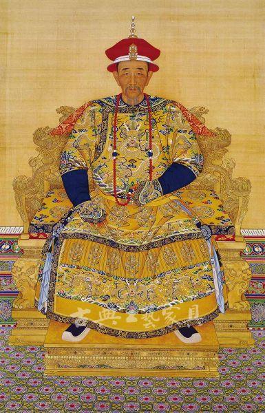 圖2 康熙皇帝晚年畫像