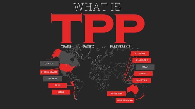 关于TPP 你必须知道这些事儿