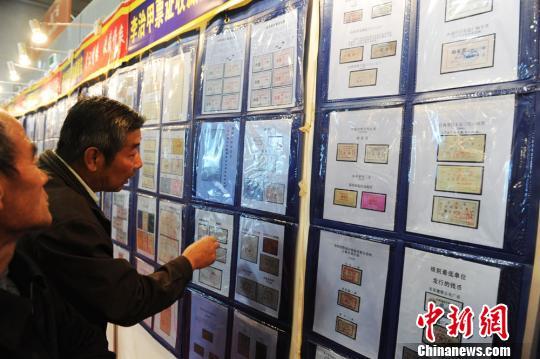 """甘肃藏家集近4万枚旧票证引""""过来人""""忆老时光"""