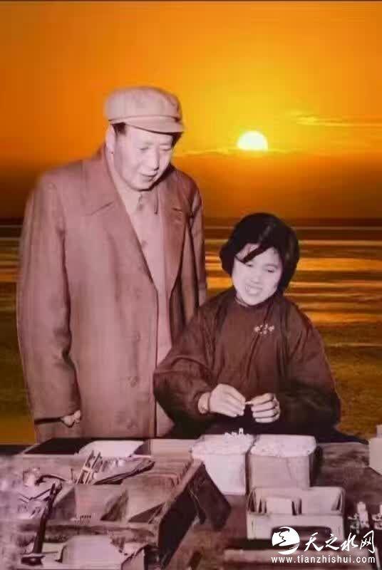 伟大领袖毛主席1958年2月13日视察二一三老厂