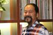 大气磅礴写春秋------天之水网访著名书法家海上文峰先生