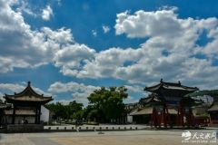 到了伏羲庙,就知道天水蓝为什么令人陶醉,让人着迷了(天之水网组图)