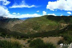 天之水网青藏、川藏高原行之三:从214国道,走向318国道路