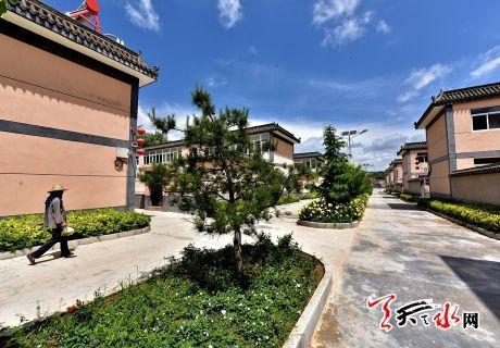 天水市平南镇孙集村被评为2017年中国美丽休闲乡村