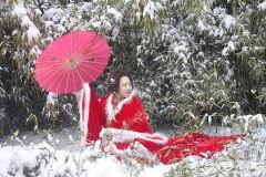 南山雪韵佳人(天之水网组图)