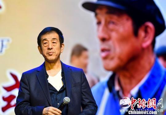 影片中老年王蔚的扮演者、国家一级演员高强。 刘新 摄