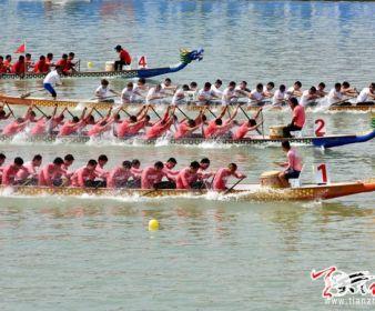 2018年中国龙舟公开赛激情开桨