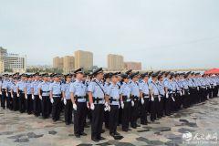 麦积公安分局圆满完成2018年中国龙舟公开赛安保任务(组图)
