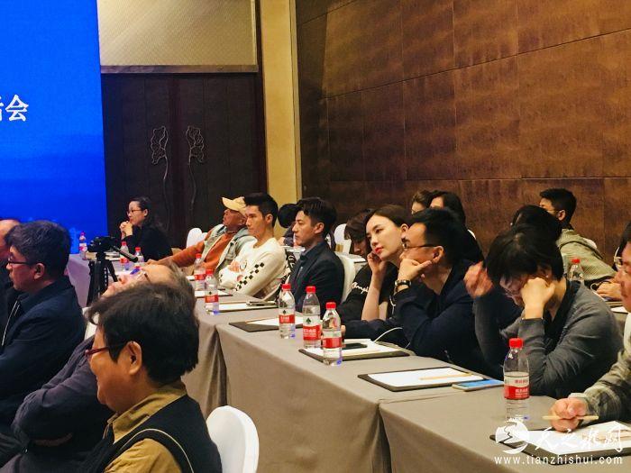 吕佳容携作品《风光大嫁》出席影视产业座谈会