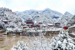 龙城迎初雪   片片映祥瑞 ——天之水网实拍天水今冬第一场雪
