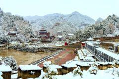 雪落净土寺(天之水网组图)