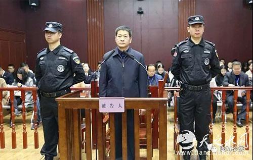 原甘肃白银市委书记张智全受审