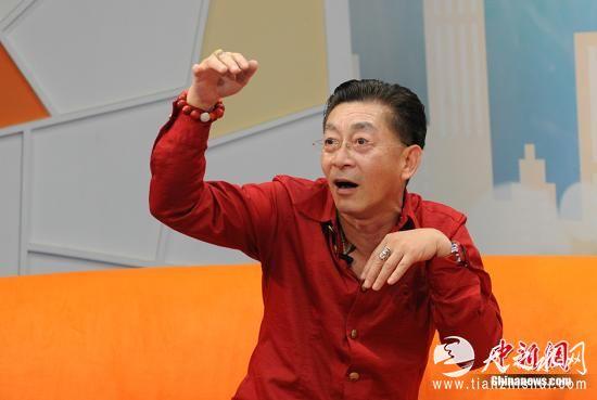 资料图:六小龄童。 <a target='_blank' href='http://www.chinanews.com/' >中新网</a>记者 李卿 摄