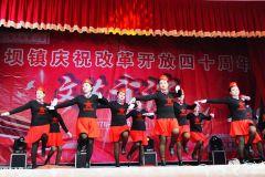 秦州区娘娘坝镇庆祝改革开放四十周年文艺汇演(天之水网组图)