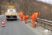 秦州公路段开展标志标牌清洗工作