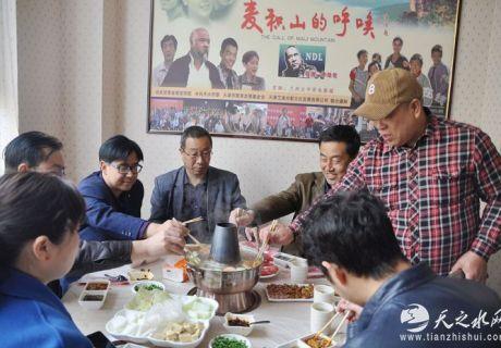 天津牛得利涮羊肉 甘谷分店开门迎客!
