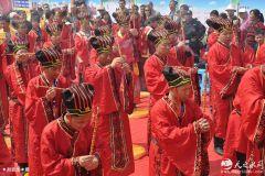 第四届赵公明财神祭拜大典在西安周至县隆重举行