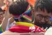 台湾举办亚洲首场同性婚礼 新法实施首日超300对情侣注册结婚