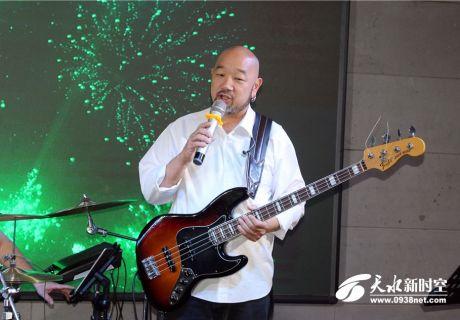 国际爵士鼓巨星John、电贝司泰斗刘文泰降临天水九拍,联袂演绎夏日的激情