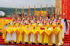 2019年公祭伏羲大典之:乐舞告祭(天之水网组图)