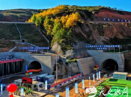 """央企再建""""胡麻岭隧道""""--中国二冶全力以赴打通定西幸福路"""