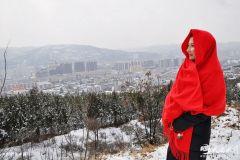 古城天水迎来第二场大雪——银装素裹雪景如画!(天之水网组图)