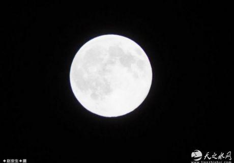 """2020年的第一个""""超级月亮""""来了!(天之水网组图)"""