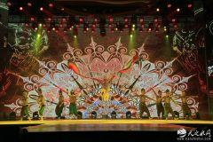 经典民族舞蹈《大河之梦》在兰州首演(组图)