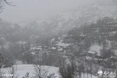 牛年正月十四:雪落天水稍子坡(组图)