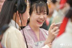 天水花朝节,你有没有被绝美的汉服惊艳到?(组图)